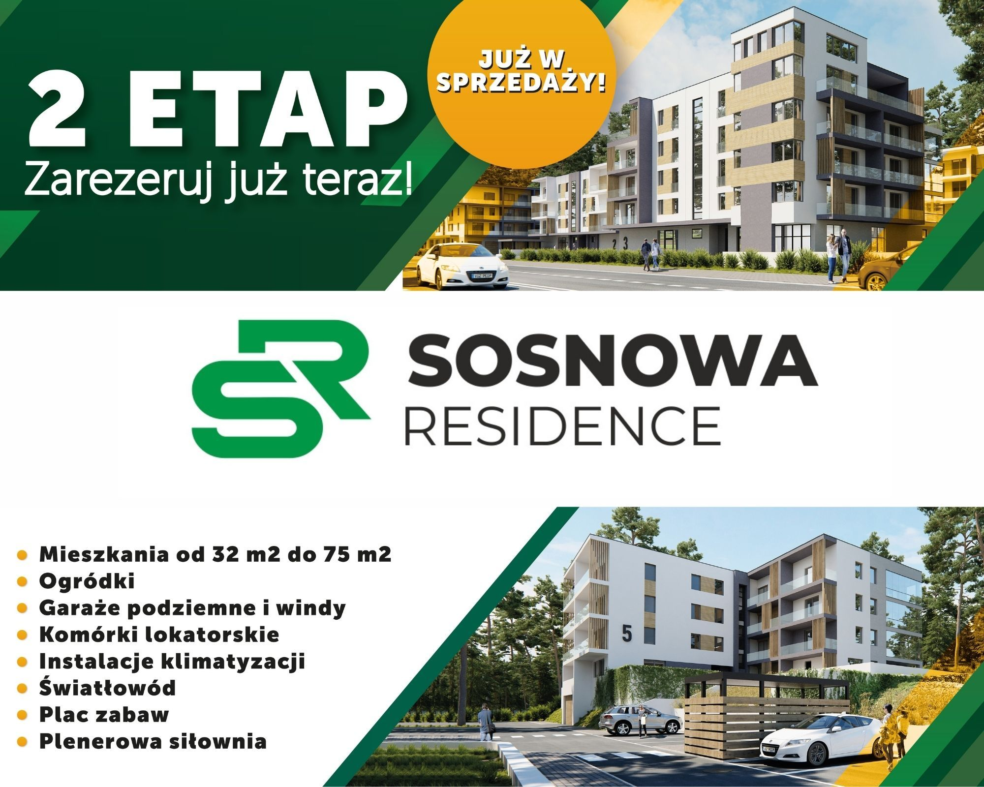 sosnowa residence drugi etap